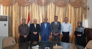 الدائرة الثقافية العراقية تستقبل وفد جامعة امير كبير التقنية