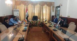 الدائرة الثقافية العراقية تستقبل وفد جامعة خوارزمي