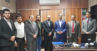 وفد هيئة الاعلام العراقي يزور الدائرة الثقافية العراقية في طهران