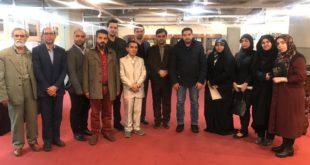 بدعوة منها وفد الدائرة الثقافية يزور المكتبة الوطنية المركزية و سط العاصمة طهران