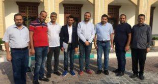 الدائرة الثقافية العراقية تزور جامعة صنعت شريف الايرانية في كيش
