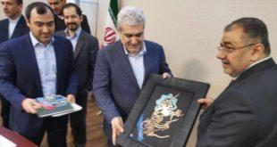 السهيل يلتقي في طهران معاون الرئيس الايراني للشؤون العلمية