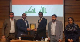مشاركة الدائرة الثقافية العراقية في مناقشة اطروحة دكتوراه