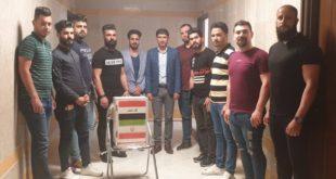 الطلبة العراقيون الدارسين في الجامعات الايرانية المختلفة يواصلون دعمهم للمناطق التي اجتاحتها السيول في المحافظات الايرانية.